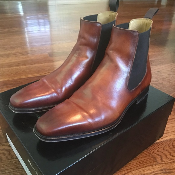 "Magnanni ""Sean"" Chelsea Boot (Brown; Size 10.5)"